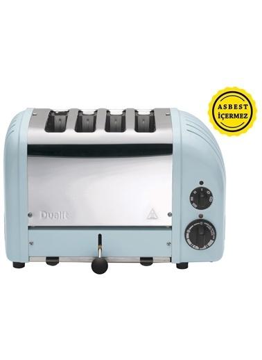Dualit 47036 Classic 4 Hazneli Ekmek Kızartma Buzul Mavi Mavi